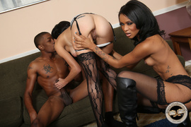 2 on 1, interracial, submissive, white