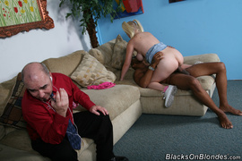1 on 1, interracial, shaved, sucking