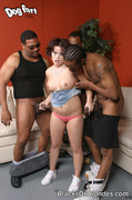 3 on 1, interracial, sperm, white