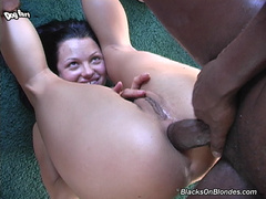 anal, interracial, swallow, tattoos