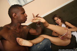 beautiful, interracial, white, workout