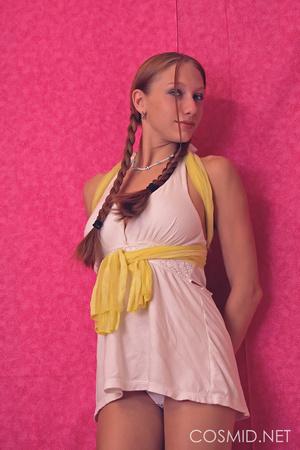 Redhead strips off  white dress to revea - XXX Dessert - Picture 3