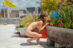 Hot chick on the rooftop unravels everyt - XXX Dessert - Picture 12