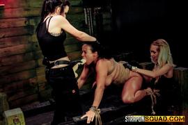 bondage, lesbian, oriental, strapon