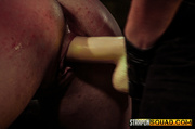 blond slave abused two