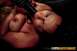 corset, lesbian, strapon, vibrator