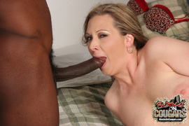 2 on 1, interracial, watching, wet