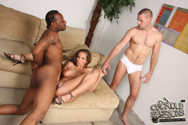 3 on 1, interracial, wet pussy, white