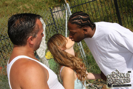 2 on 1, interracial, shaved, swingers