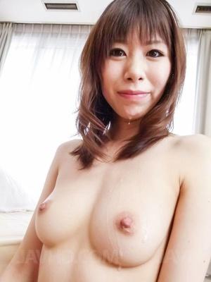 Gal in sheer white lingerie masturbates  - XXX Dessert - Picture 14