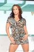 beautiful woman short dress