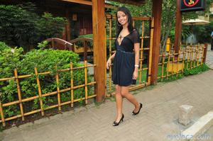 Model in black dress and black heels giv - XXX Dessert - Picture 5