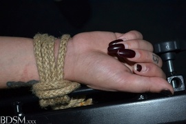bondage, brunette, rough sex, tits