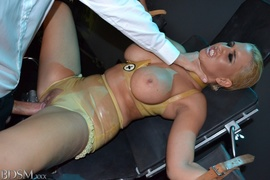 blonde, bondage, bound, rough sex