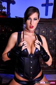sizzling slut black corset