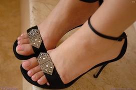 dress and heels, erotica, upskirt in public, veggie & fruit stuffing