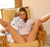 Jamie Lynn hard breast massage
