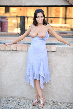 Pornstar Ava Addams dress and heels - XXX Dessert - Picture 3