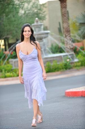 Pornstar Ava Addams dress and heels - XXX Dessert - Picture 11