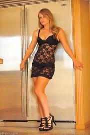 brigitte dress and heels