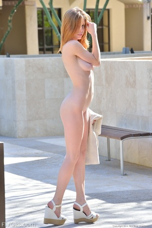 Glamour model Bethany dress and heels - XXX Dessert - Picture 4