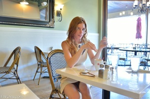 Glamour model Bethany dress and heels - XXX Dessert - Picture 16
