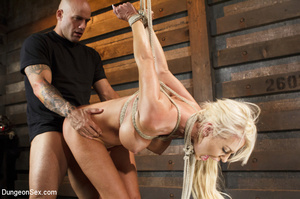 Big-titted blonde gets tortured with bon - XXX Dessert - Picture 15
