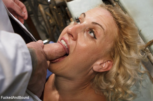 Blonde vixen with roped hands and legs g - XXX Dessert - Picture 12