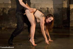 Ginger vixen gets her shaved pussy drill - XXX Dessert - Picture 10