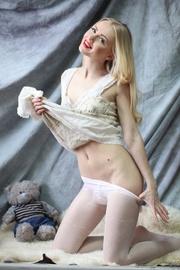 blonde teen angel cute
