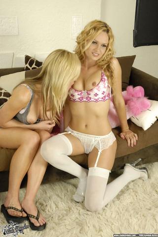 horny blondes wait strip