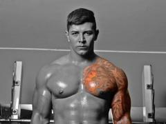 25 yo, boy live sex, striptease, tattoo