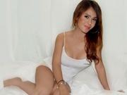 brunette creamyhotsandy striptease
