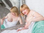 blonde regine dildo