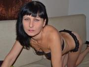 brunette evelinax1