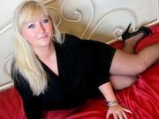 blonde evalovex smoking