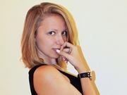brunette teen najidah