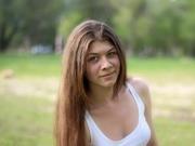 brunette teen mary