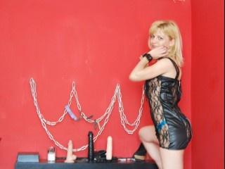 blonde slavealice footjob