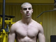 brunette young man muscleboy