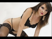 brunette miagrey striptease