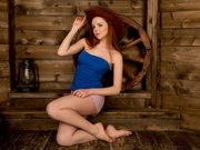 redhead teen sherdoll close