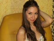 brunette teen sweetbarby4u strap