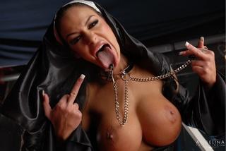 Nun gang banged in church