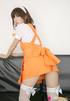 fawn orange uniform strutting