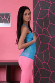 first-class nympho pink tights