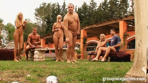 Two blonde hotties and dirty group bangi - XXX Dessert - Picture 7