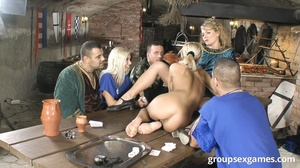 Nasty fair-haired bitch and her two blon - XXX Dessert - Picture 4