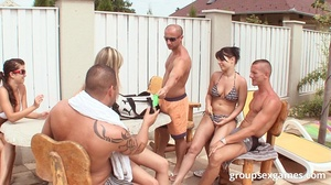 Barbecue in the garden with hot chicks i - XXX Dessert - Picture 2