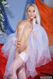 alluring trick white stockings